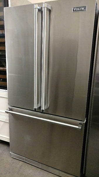 Viking freestanding fridge appliance outlet floor model refurbished