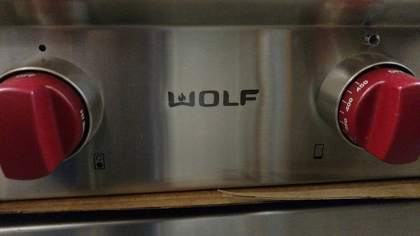 Wolf rangetop stovetop cooktop openbox refurbished discount outlet