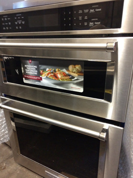 "KitchenAid 30"" oven microwave combo"