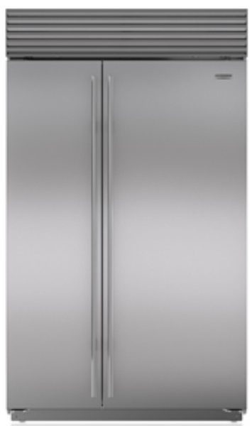 subzero BI-48/S fridge open-box refurbished floor model outlet los angeles clearance center
