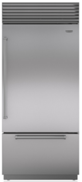 "Sub-Zero 36"" bottom freezer over under REFRIGERATOR FREEZER open-box high end appliances"