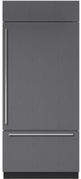 "36""  REFRIGERATOR/FREEZER PANEL READY openbox"