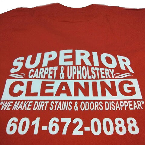 SUPERIOR Cleaning Crew T-Shirt Uniform