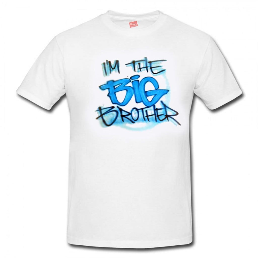 """I'M THE BIG BROTHER"" Design"