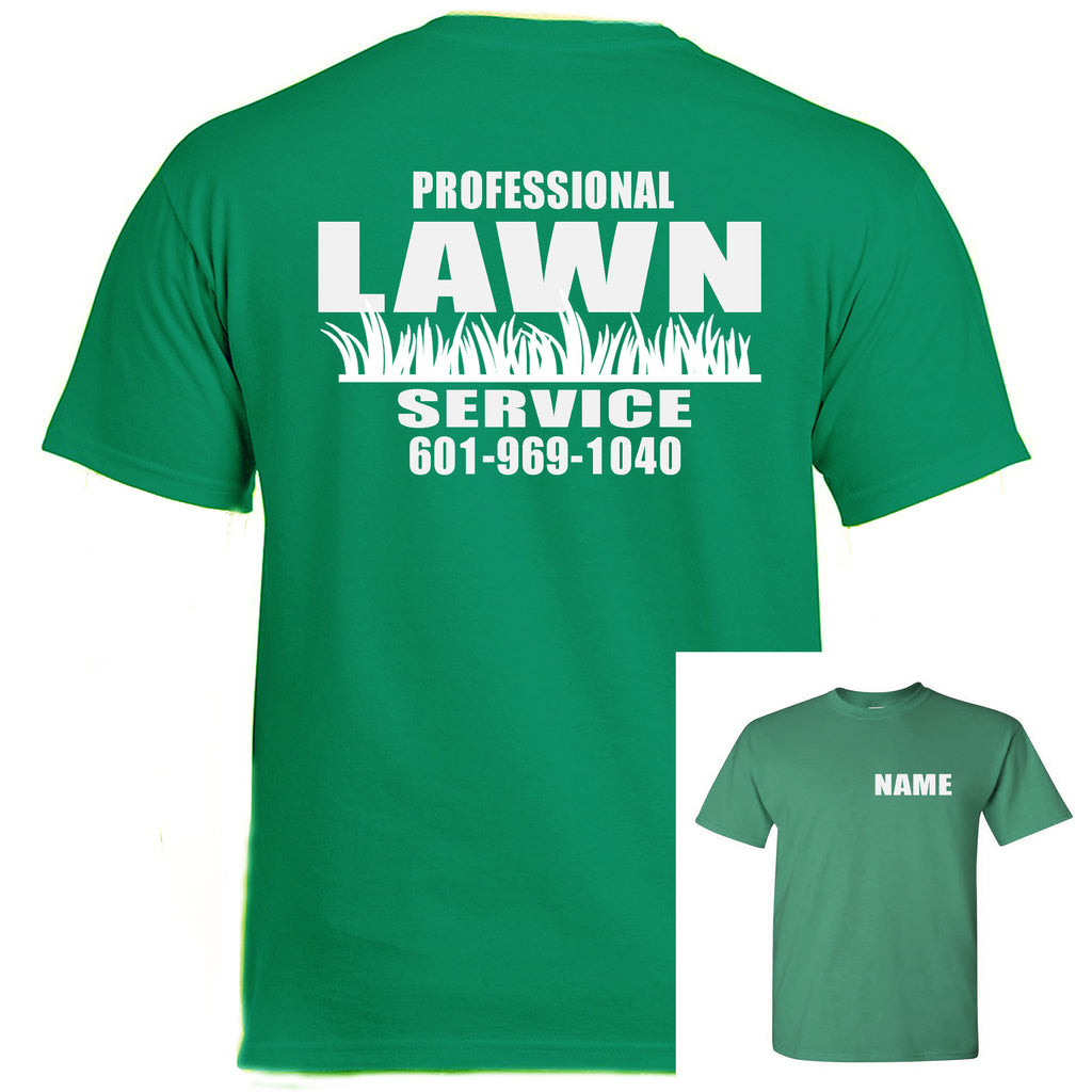 Landscaping Work T-Shirts (MINIMUM ORDER OF 10 MIX SIZES)