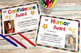 Character Traits Awards: Insert Digital Student Image