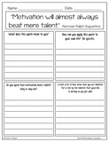 Motivation Quotes Posters and Printables for Growth Mindset
