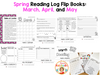 Reading Logs - Spring Flip Books