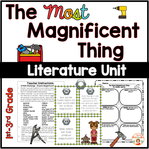 The Most Magnificent Thing Literature Activities
