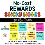 No-Cost Student Rewards on Sticky Notes