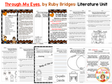 Through My Eyes by Ruby Bridges Literature Activities