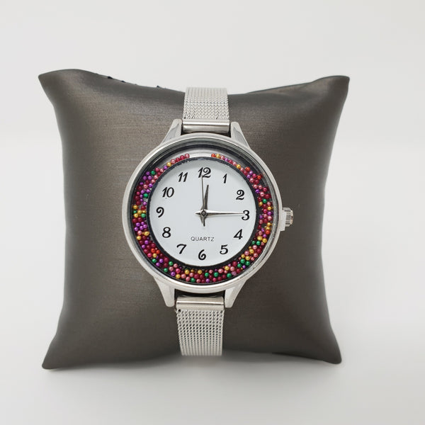 Fun Chrome Ladies Watch