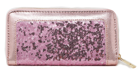 Long bling purse