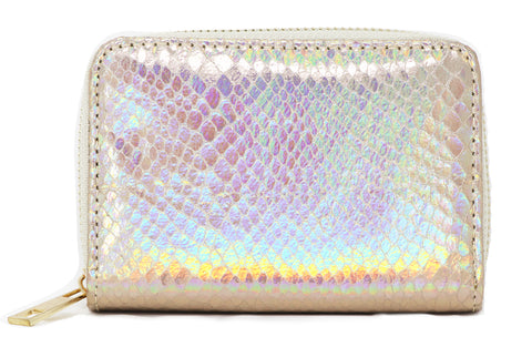 Iridescent purse