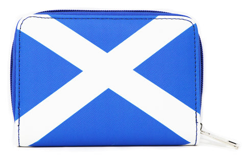 Scottish flag purse