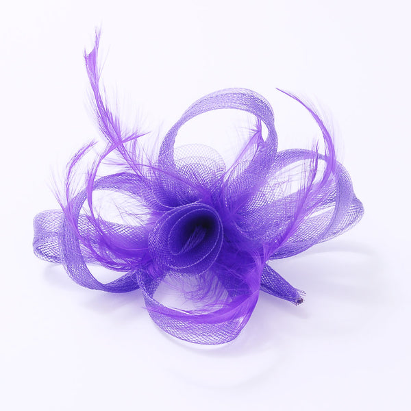 Fascinator Clip 3 Flowers