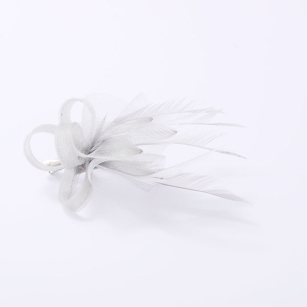 Fascinator mini side feather