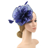 Art Silk & Feather Fascinator