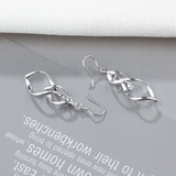 Sterling Silver Pendant Earrings