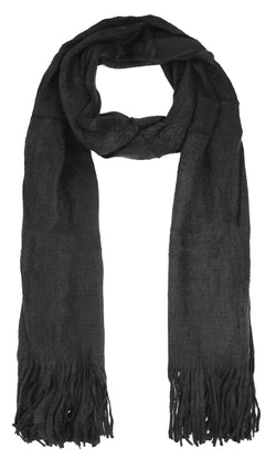 Plain colour scarf