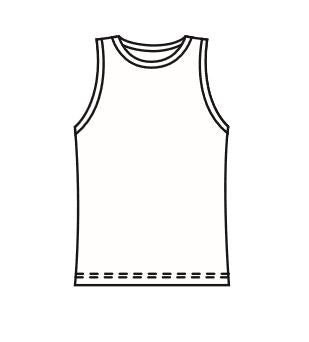 Mens Classic Active Tank Sublimated - Customizable Made in USA