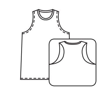 Ladies Racerback Sleeveless Baseball Jersey Sublimated - Customizable Made in USA