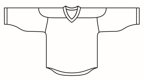 Hockey Jersey Pro Fabric + Shoulders Sublimated - Customizable Made in USA
