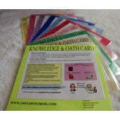 OATH AND KNOWLEDGE CARDS