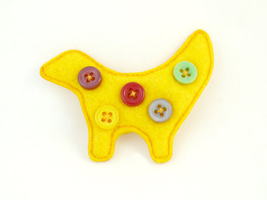 Super Lambannana Brooch