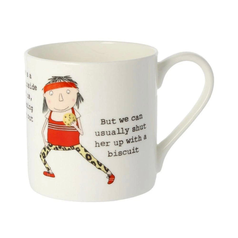 There's a Runner inside all of us- Large Bone China Mug