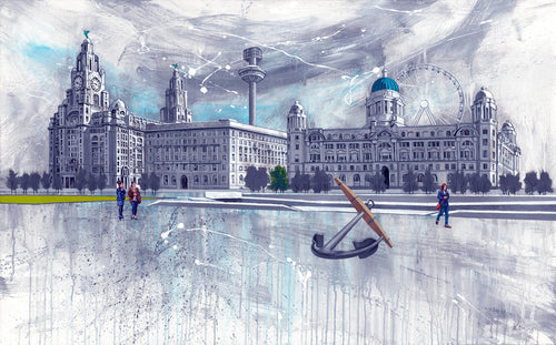The Three Graces Liverpool - Ltd Edition