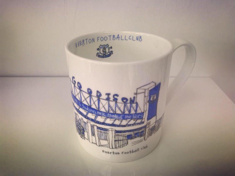 EFC Goodison Park - China Mug by Freida McKitrick