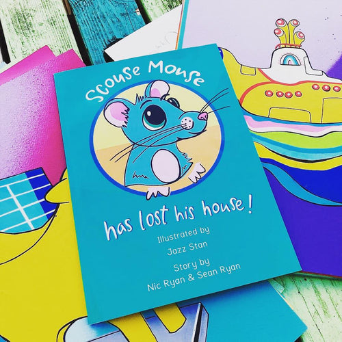 Scouse Mouse has lost His House -  Children's Book