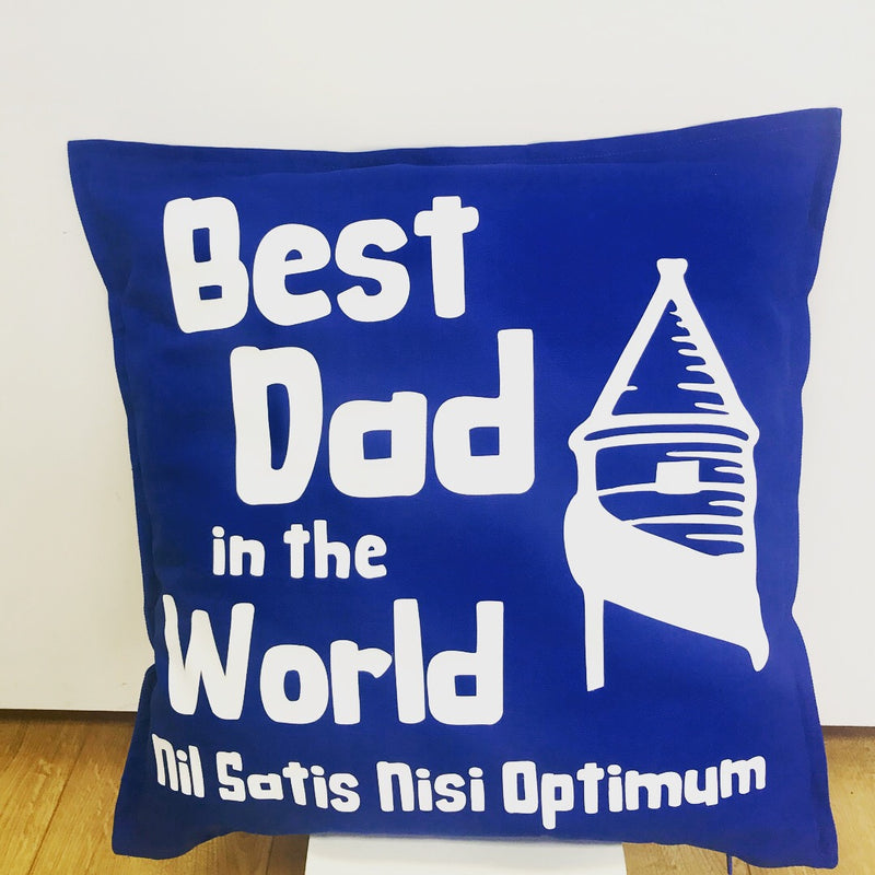 Best Dad in the World Everton Cushion- Can be personalised