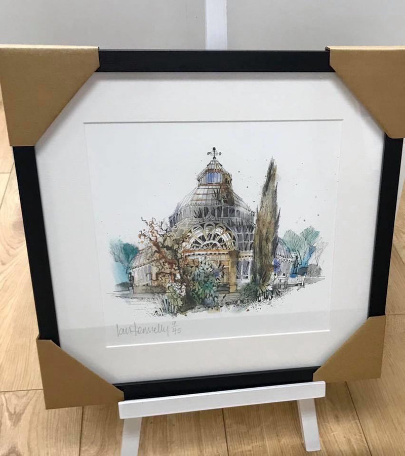 Limited Edition Palm House Framed Print