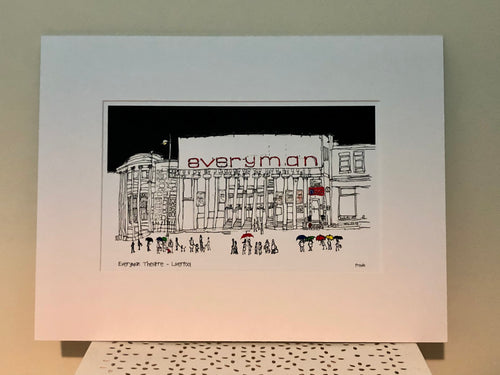 Liverpool Everyman Theatre - Large Print