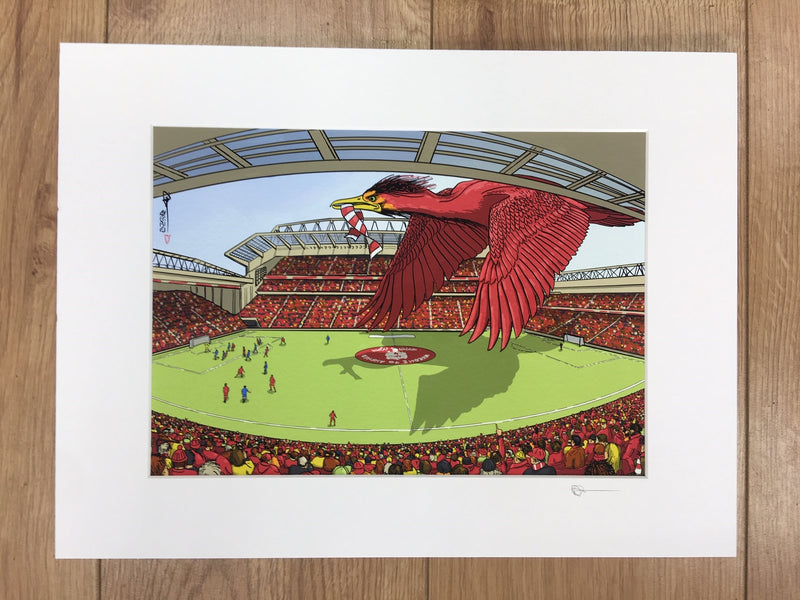 Anfield by David Montagnes
