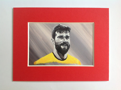 Alisson Becker Fridge Magnet
