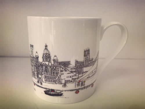 Liverpool Waterfront - China Mug