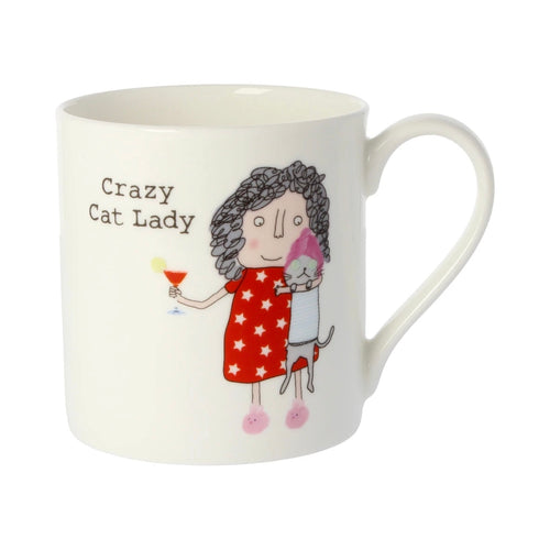 Crazy Cat Lady - Large Bone China Mug