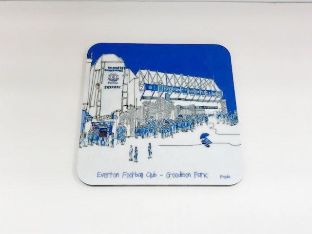 Everton Football Club Coaster - Freida Mckitrick