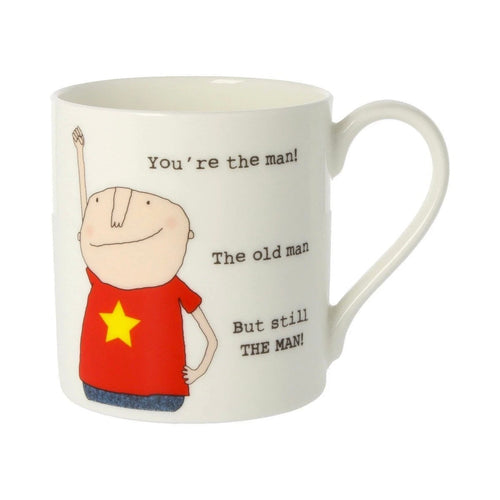 You're the Man  - Large Bone China Mug