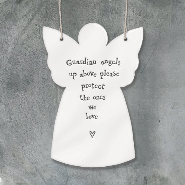 Porcelain angel- Protect the ones we love