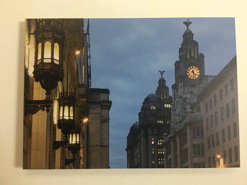 India and Liver Buildings