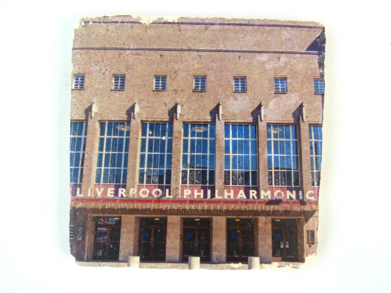 Liverpool Philharmonic Hall - Stone Coaster