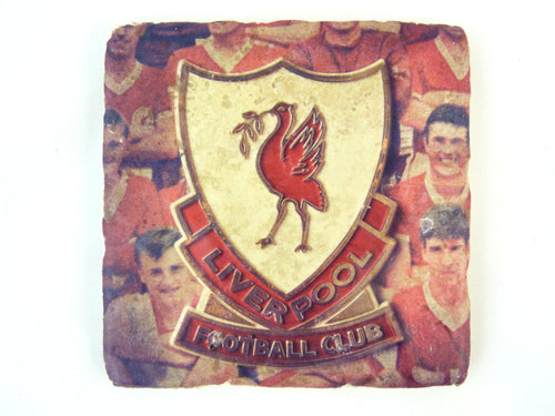 Liverpool Pin Badge - Stone Coaster