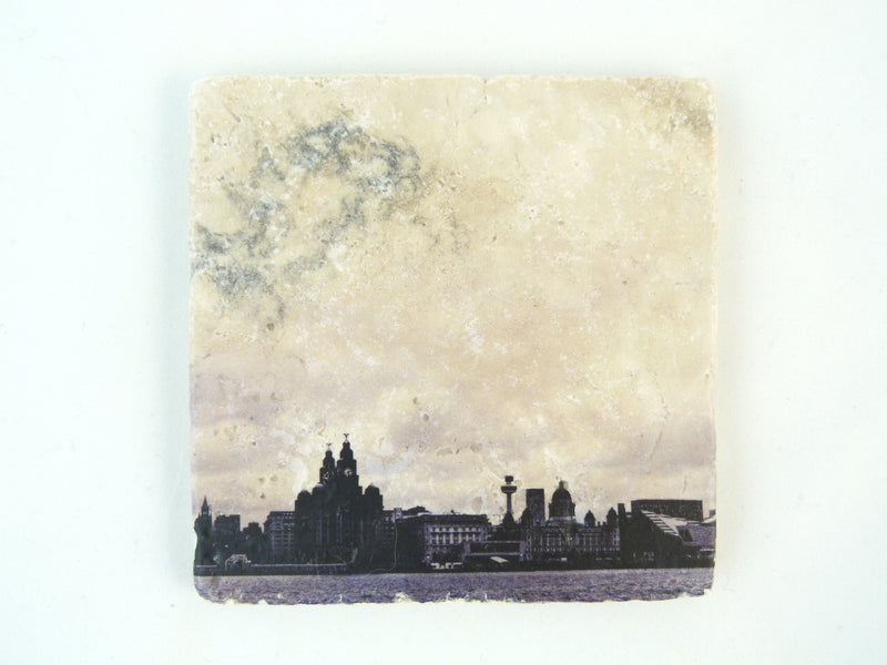 Liverpool Waterfront - Stone Coaster