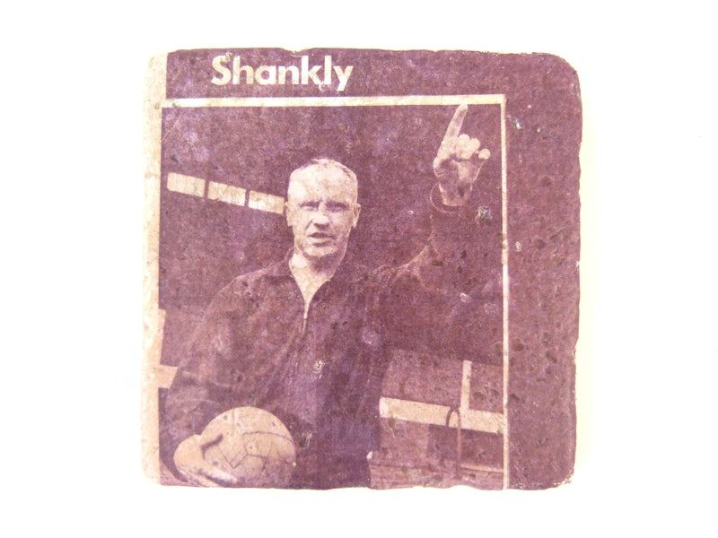 Bill Shankly Stone Coaster