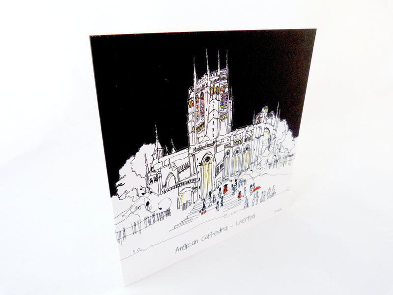 Anglican Cathedral Card by Freida McKitrick