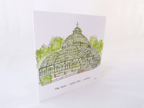 Sefton Park Palm House- Greetings Card